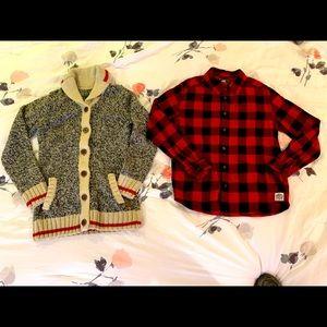 2 Boys ROOTS Shirts